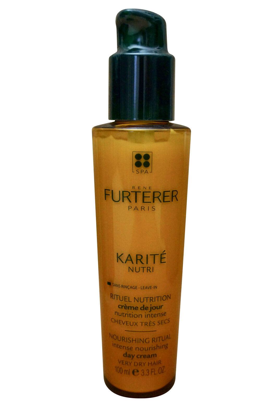 Rene Furterer Karite Nutri Intense Nourishing Day Cream Very Dry Hair 3.3 OZ - $56.63