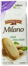 Pepperidge Farm Milano Cookies, Mint, 7 Ounce (Pack of 24) - $108.89