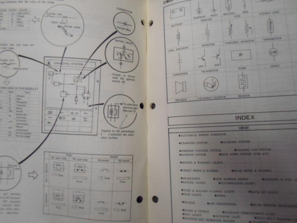 1981 Mazda Glc Elektrisch Wiring Diagrams Service Manuell Fabrik OEM Buch 81