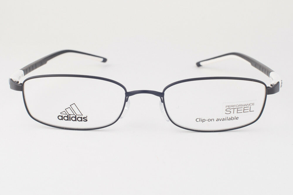 Adidas A623 50 6056 Ambition Matte Black White Eyeglasses 623 506056 54mm