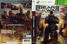 Gears of War 3 (Microsoft Xbox 360, 2011) - $4.95