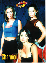 Alyssa Milano Holly Marie Combs Shannen Doherty teen magazine pinup clipping blu