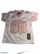 NFL GREEN BAY PACKERS REEBOK JERSEY GIRLS Pink & White SIZE  4 - $19.80