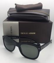 Neu Giorgio Armani Sonnenbrille Ar 8008 5017/58 54-20 Schwarz Rahmen mit... - $259.94