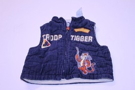 Infant/Baby Tigger Troop Patrol Leader 12 Months Sleeveless Vest Disney - $9.49