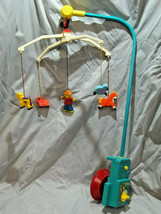 Fisher Price 1973 Music Box Mobile #174 Vintage Crib Lullaby Works Perfe... - $35.03