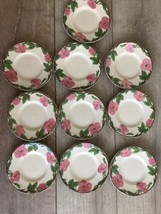 "Set 10 Franciscan Desert Rose Bread Plate 6"" New Modern Stamp Replacement - $49.49"