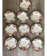 """Set 10 Franciscan Desert Rose Bread Plate 6"""" New Modern Stamp Replacement - $49.49"""