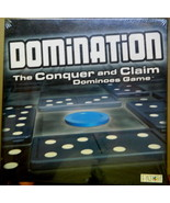 Domination The Conquer and Claiim Dominoes Game-Sealed - $140.00