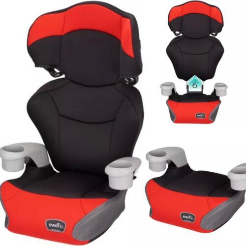 Evenflo Big Kid Sport 2 in 1 High Back Booster Seat, Cardinal Red  - $44.99