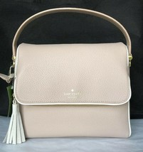 New Kate Spade Miri Chester Street Leather handbag Rose Cloud / Cement trim - $119.00