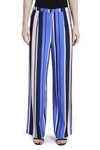Romeo & Juliet Women's Couture Multi Color Stripe Wide Pants Blue Size M... - $58.07