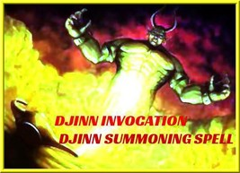 DJINN SPELL, SUMMONING SPELL, genie summoning, jinn invocation - $67.00