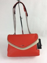 Nine West Dayne Medium Shoulder Bag Fiery RedSilver - $31.00