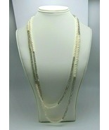 """Women's Fashion Freshwater Seed Pearls Continuous Necklace 58"""" - $21.68"""