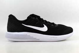 Nike Lunarglide 8 BLACK SIZE 11.5 BRAND NEW IN BOX FREE SHIPPING 843725-001 - £83.13 GBP