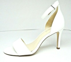 Nine West White Ankle Strap Heel Size 6M - $18.81