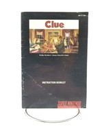 Super Nintendo Clue Instruction Booklet Manual Color Version SNES - $4.99