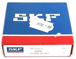FACTORY SEALED SKF 6208 BALL BEARING image 1