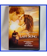 Used The Last Song (DVD, 2010, Widescreen) Miley Cyrus Liam Hemsworth - $2.00