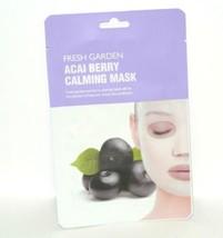 Fresh Garden Acai Berry Calming Mask 0.68oz 20ml sheet 1 mask - $4.90
