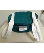 Fabric Pie Carrier / Dish Storage Bags  Christmas Dishes Storage Green /... - $9.85