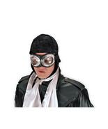 SteamPunk WW I Aviator Style Black Hat / Cap, NEW - $17.41