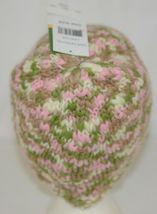 John Deere LP67784 Green White Pink Brown Knitted Hat Acrylic image 5