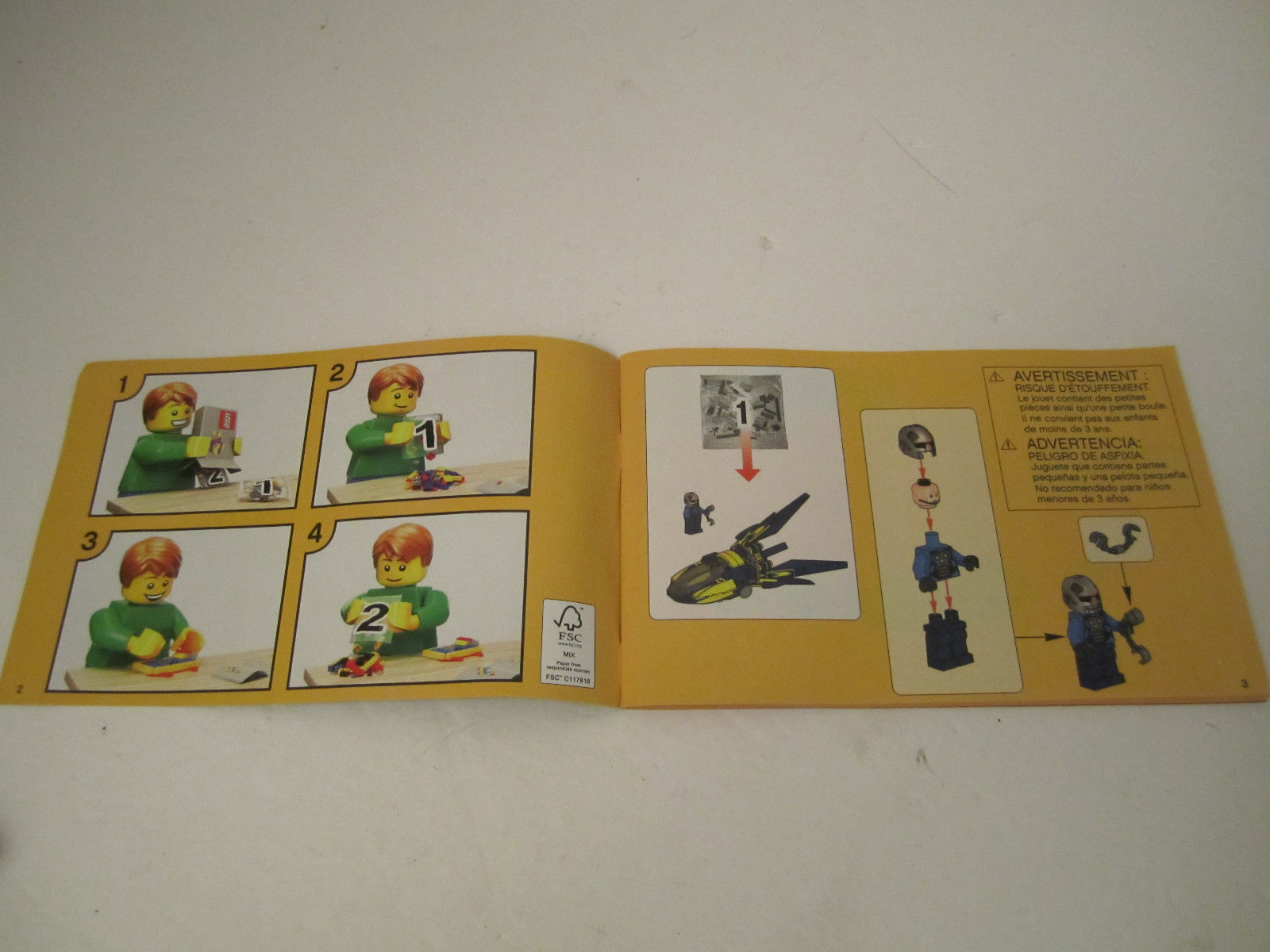 Lego Instruction Manual Only 76019 Marvel Super Heroes Guardians of the Galaxy image 4