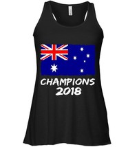 Australia Champions 2018 Football Jersey Soccer Flowy Racerback Tank - $26.95+