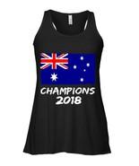 Australia Champions 2018 Football Jersey Soccer Flowy Racerback Tank - $26.95