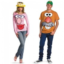 Disguise Toy Story Mr Mrs. Potato Head Adult Couple Halloween Costume 23445 - £15.78 GBP