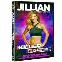 Jillian Michaels Killer Cardio Exercise Fitness DVD New - $3.99
