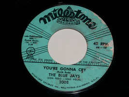The Blue Jays You're Gonna Cry Lover's Island 45 Rpm Record Vintage Mile... - £7.74 GBP