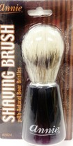 """ANNIE SHAVING BRUSH WITH NATURAL BOAR BRISTLES #2924  4.5""""x 1.5"""" - $2.56"""