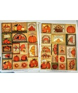 Current Acid Free Fall Sticker LOT 4 sheets Scrapbooking Cards Craft Pro... - $7.92