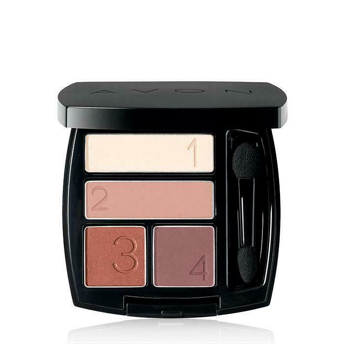 Avon True Color Warm Sunrise Shadow Quad - $7.64