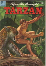 Tarzan Comic Book #66, Dell Comics 1955 VERY GOOD+ - $14.49