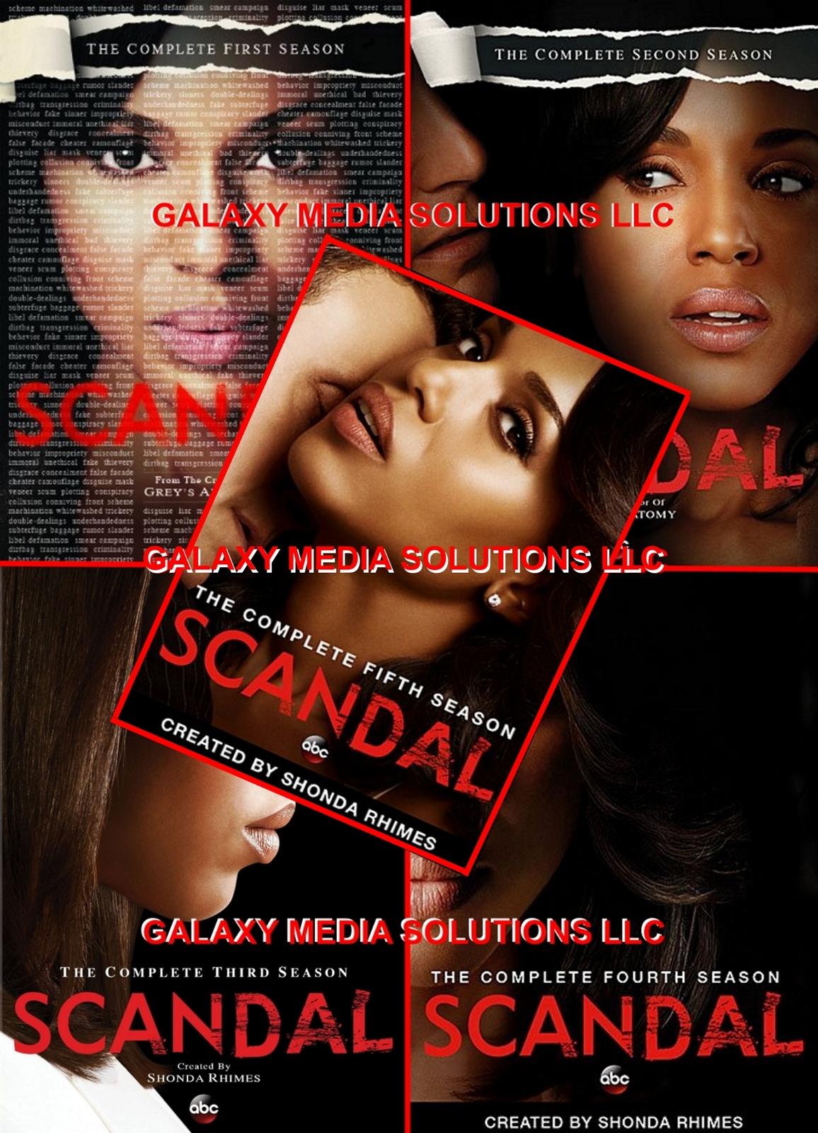 Scandal season 1 5 dvd one five bundle