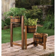 Apple Barrel Ladder Planter - $101.95