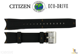 Citizen Eco-Drive Promaster B740-s067201 Schwarz Gummi Uhrenarmband B740... - $93.25
