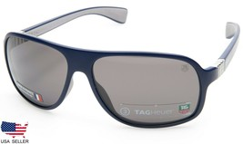 New Tag Heuer TH9303 104 Dark Blue w/GREY Lens Sunglasses 62-13-130 B44mm France - $118.80