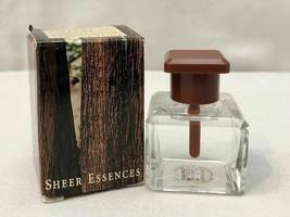 Avon SHEER ESSENCES SANDALWOOD PERFUME OIL .5 oz. VINTAGE NEW IN BOX 1997 - $35.63