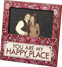 Primitives by Kathy You are My Happy Place Plaque Frame - $11.17