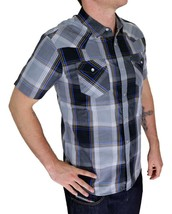 Levi's Men's Classic Button Up Plaid Geometric Shirt 3LYSW6062-CVR image 2