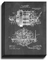 Rotary Engine Patent Print Chalkboard on Canvas - $39.95+