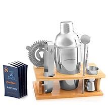 Cocktail Shaker Martini Shaker Set - Bar Accessories : Drink Shaker, Jig... - $29.48