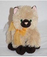 TY Classic CASSIDY Brown Himalayan Cat Green Eyes Kitten Plush 2005 Stuf... - $19.32