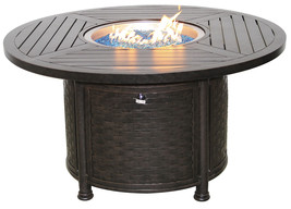"OUTDOOR PATIO 50"" ROUND DINING FIRE TABLE - SERIES 4000 - $2,970.00"