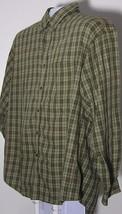 Men's Long Sleeve Casual Dress Shirt Van Heusen Size XL 17-17.5 Dark Gre... - $6.99
